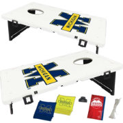 BAGGO Michigan Wolverines Bean Bag Toss Game