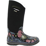 "BOGS Women's Classic High Bloom 13"" Insulated Waterproof Rain Boots"