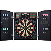 Bullshooter E-Bristle 1000 Dartboard Cabinet Set