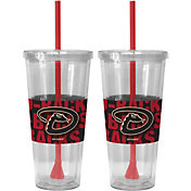 Boelter Arizona Diamondbacks Bold Sleeved 22oz Straw Tumbler 2-Pack
