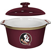 Boelter Florida State Seminoles Game Time 2.4qt Oven Ceramic Bowl