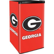Boelter Georgia Bulldogs Counter Top Height Refrigerator