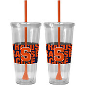 Boelter Syracuse Orange Bold Sleeved 22oz Straw Tumbler 2-Pack