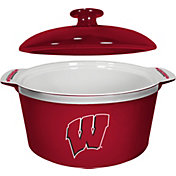 Boelter Wisconsin Badgers Game Time 2.4qt Oven Ceramic Bowl