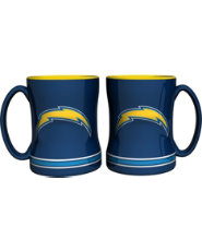 Boelter San Diego Chargers Relief 14oz Coffee Mug 2 Pack