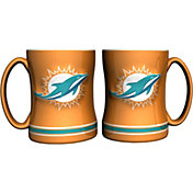 Boelter Miami Dolphins Relief 14oz Coffee Mug 2-Pack