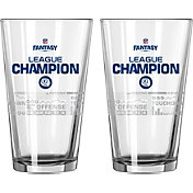 Boelter NFL Fantasy Football 16oz. League Champion Satin Etched Pint 2-Pack
