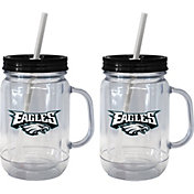 Boelter Philadelphia Eagles 20oz Handled Straw Tumbler 2-Pack