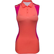 Bette & Court Women's Curve Cool Elements Sleeveless Golf Polo