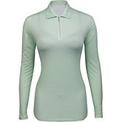 Bette & Court Women's Kiara Long Sleeve Golf Polo