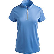 Bette & Court Women's Cool Elements Swing Mock Golf Polo