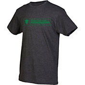 boxercraft Men's Marshall Thundering Herd Grey Just for You Crew Block Wordmark and Logo T-Shirt