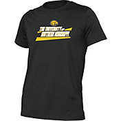 boxercraft Men's Southern Miss Golden Eagles Just for You Crew Wordmark and Logo Black T-Shirt