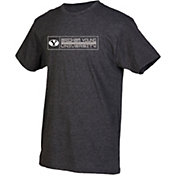 boxercraft Youth BYU Cougars Grey Just for You Crew Wordmark and Logo T-Shirt