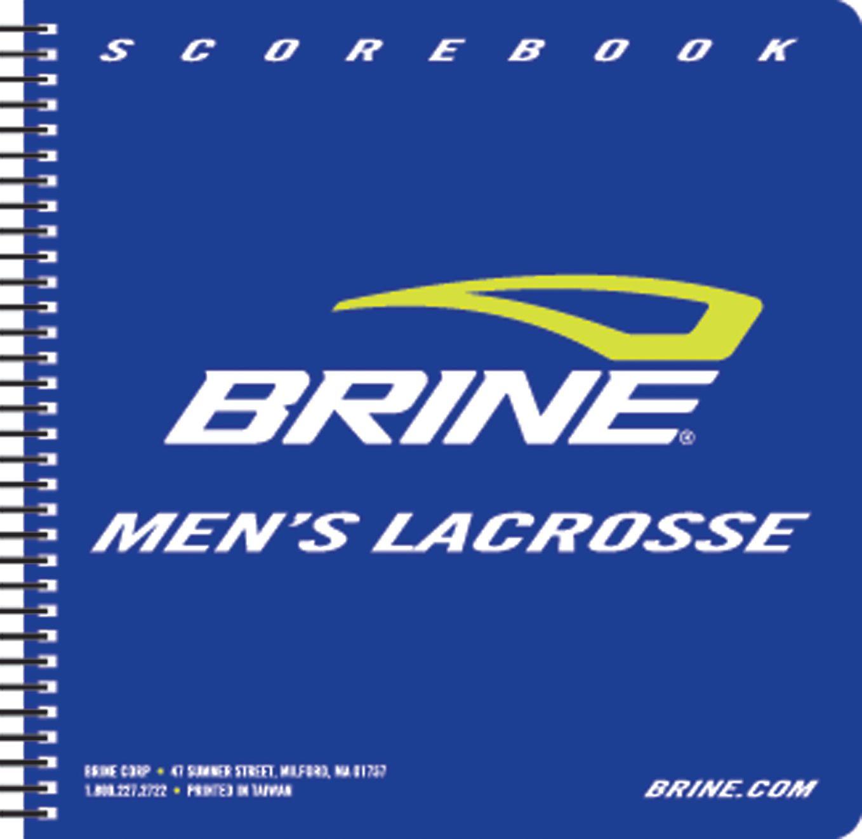 Brine Mens Lacrosse Scorebook DICKS Sporting Goods