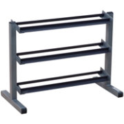 Body Solid GDR363 3 Tier Horizontal Dumbbell Rack