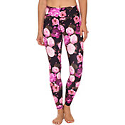 Betsey Johnson Performance Women's Dramatic Floral Print Leggings