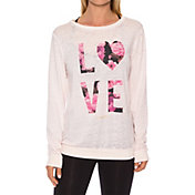 Betsey Johnson Performance Women's Love Dramatic Floral Print Pullover