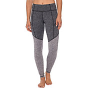 Betsey Johnson Performance Women's Spacedye Brushed Back Leggings