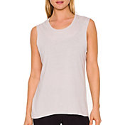 Betsey Johnson Performance Women's Strappy Back Muscle Tank Top