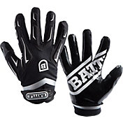 Battle Sports Science Youth Hybrid Football Receiver Gloves