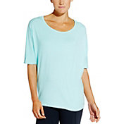CALIA by Carrie Underwood Women's Cross Back Dolman Tee