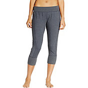 CALIA by Carrie Underwood Women's Effortless French Terry Zip Capris