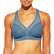 CALIA by Carrie Underwood Women's Inner Power Cross Front Mesh Bra