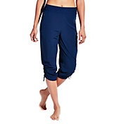 CALIA by Carrie Underwood Women's Anywhere Woven Zip Capris
