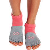 CALIA by Carrie Underwood Footie Grip Open Toe Socks