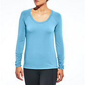CALIA by Carrie Underwood Women's Plus Size Essential Long Sleeve Shirt