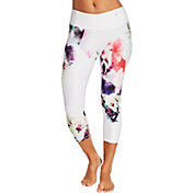 CALIA by Carrie Underwood Women's Essential Tight Fit Printed Capris
