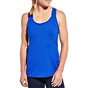 CALIA by Carrie Underwood Women's Twist Back Double Layer Tank Top