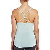 CALIA by Carrie Underwood Women's Flowy Strappy Striped Tank Top