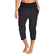 CALIA by Carrie Underwood Women's Anywhere Foldover Waist Capris
