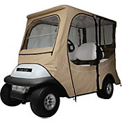 Classic Accessories Fairway Precedent Long Golf Cart Enclosure – Khaki