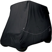 Classic Accessories Fairway Quick-Fit Short Golf Cart Cover - Khaki