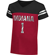 Colosseum Athletics Toddler Girls' Indiana Hoosiers Crimson Nickel T-Shirt