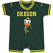 Colosseum Athletics Infant Oregon Ducks Green Super Fan II Onesie