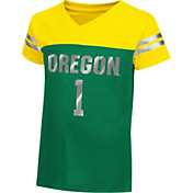 Colosseum Athletics Toddler Girls' Oregon Ducks Green Nickel T-Shirt