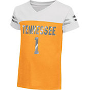 Colosseum Athletics Toddler Girls' Tennessee Volunteers Tennessee Orange Nickel T-Shirt