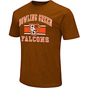 Colosseum Athletics Men's Bowling Green Falcons Brown Dual Blend T-Shirt