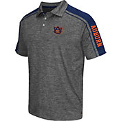Chiliwear Men's Auburn Tigers Grey Birdie Polo