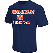 Colosseum Athletics Men's Auburn Tigers Blue Matrix T-Shirt