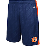 Colosseum Athletics Men's Auburn Tigers Blue Sleet Performance Shorts
