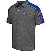 Chiliwear Men's Boise State Broncos Grey Birdie Polo