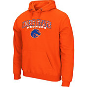 Colosseum Athletics Men's Boise State Broncos Orange Secondary Fleece Hoodie