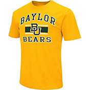 Colosseum Athletics Men's Baylor Bears Orange Dual-Blend T-Shirt