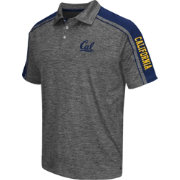 Chiliwear Men's Cal Golden Bears Grey Birdie Polo