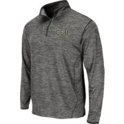 Colosseum Athletics Men's Colorado State Rams Grey Action Pass Quarter-Zip